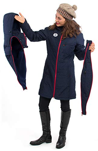 Umstandsjacke aus Fleece mit Babyeinsatz