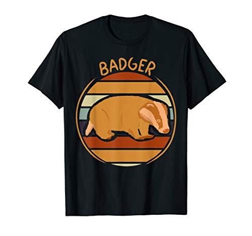 70er 80er Retro Vintage Dachs Kleidung Geschenk Kinder Damen T-Shirt -