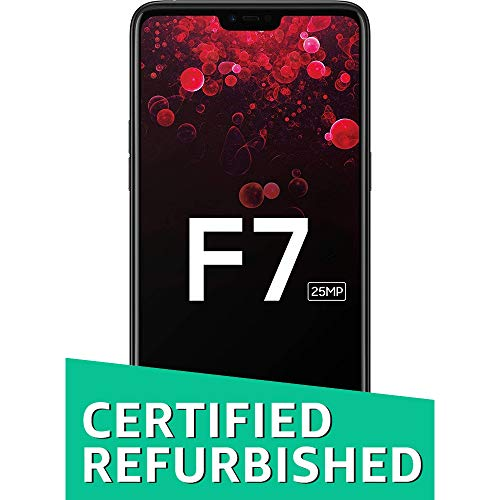 (CERTIFIED REFURBISHED) Oppo F7 (Black, 6GB RAM, 128GB Storage) with Offers