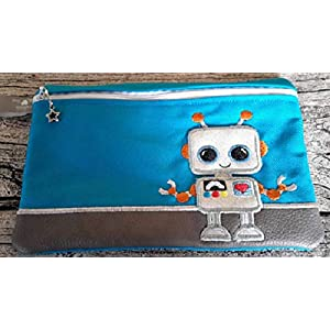 E-Booktasche/Mäppchen Roboter