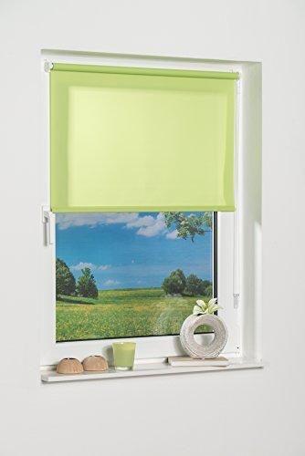 K de Home 541802–1Klemmfix–Estor de Mini, Verde Luz de día, plástico, 40x 150cm, Tela, Verde, 100 x 150 cm