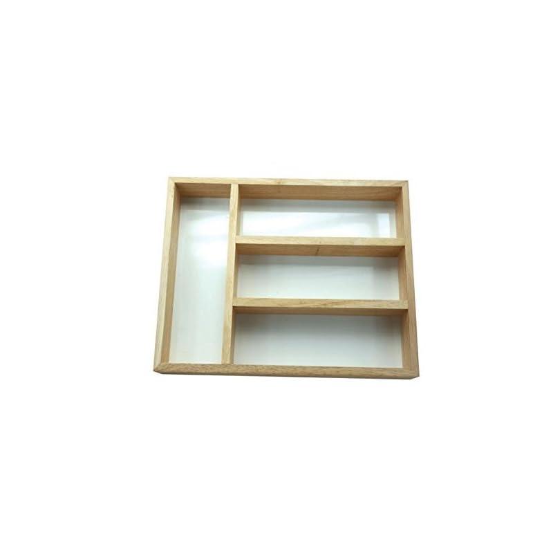 Apollo Housewares Besteckkasten Holz 32 X 24 Cm Natur Holz