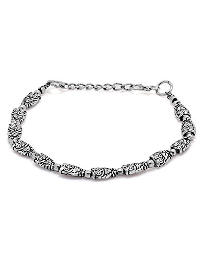 Voylla Oxidized Silver Bracelet Featuring Owls  available at amazon for Rs.139