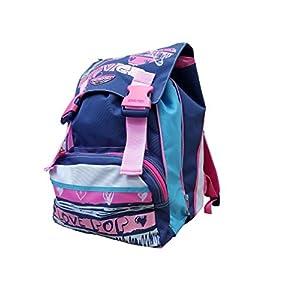 41uIkNQaR%2BL. SS300  - Seven - Mochila Escolar Extensible – Azul y Rosa 28 l 38 x 27 x 24 cm