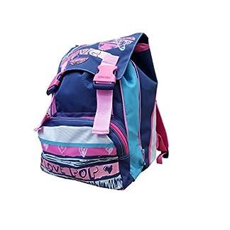 Seven – Mochila Escolar Extensible – Azul y Rosa 28 l 38 x 27 x 24 cm