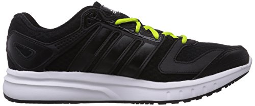Adidas Galaxy, Running Entrainement Homme Noir (core Black/core Black/semi Solar Yellow)