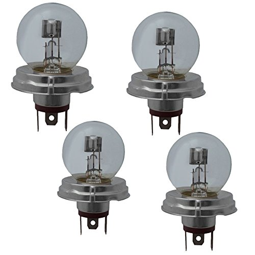 Preisvergleich Produktbild 4x R2 DUPLO Halogenlampe Birne Leuchtmittel Lampe Glühbirne 12V 45/40W P45t Sockel NEU