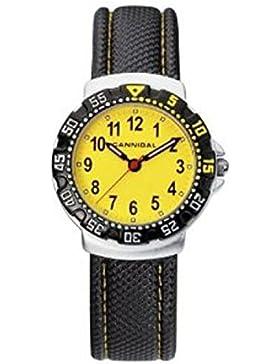 Cannibal Unisex-Armbanduhr Analog Kunststoff schwarz CJ091-18