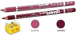 Coat Me Bonjour Paris Perfect Pout Lip Liner (Angel Pink/Red Indian)