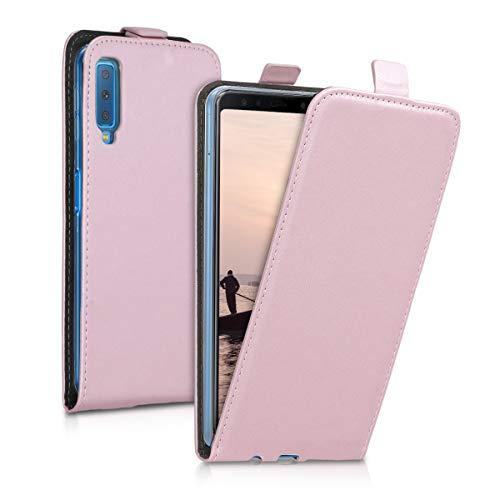 kwmobile Samsung Galaxy A7 (2018) Hülle - Handyhülle für Samsung Galaxy A7 (2018) - Handy Case Flip Schutzhülle