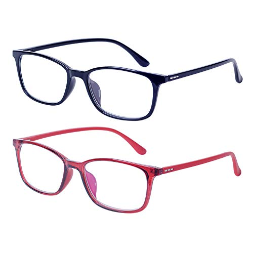 2-Pack Gafas Lectura Anti Luz Azul Hombre Mujer +1.550-54