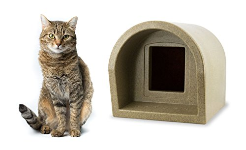 Mr Snugs KatDen Outdoor Cat Kennel - Sandstone Colour