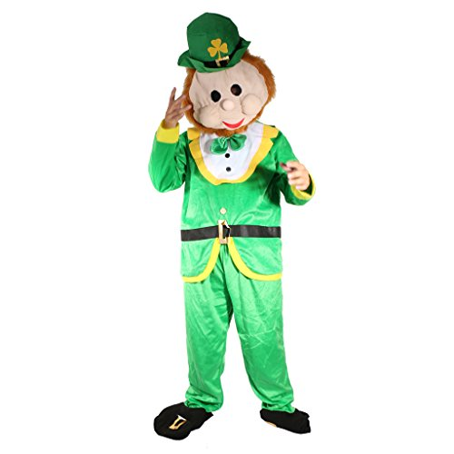 MagiDeal Herren Kostüm Grüner Kobold St Patricks Day Kostüm Verkleidung