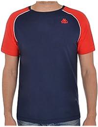 Kappa - T-shirt - Manches Courtes - Homme bleu bleu marine