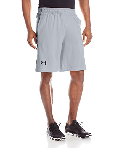 Under Armour Herren Raid 25,4 cm Shorts Silber / Grau
