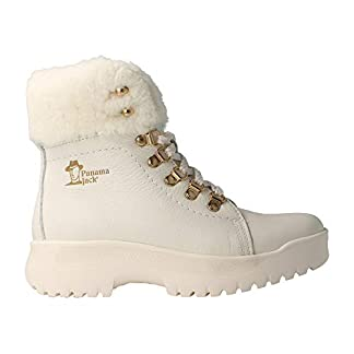 Panama Jack HELSINSKI – White Leather Boot for Women