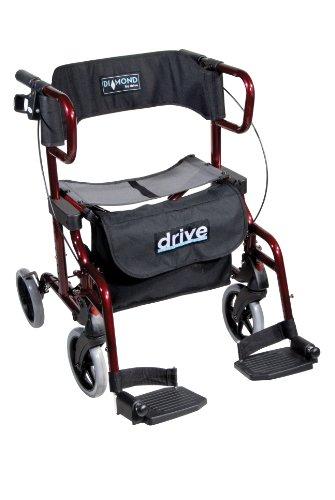 Drive Medical-transport-stuhl (Drive Rollator Transportstuhl Diamond Deluxe)