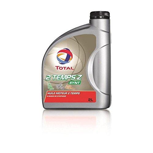 Total huile moteur 2 tz synthese - spécial motoculture et 2 roues max 50 cc - 2 l