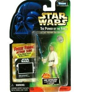 Star Wars - POTF - Freeze Frame Card - Luke Skywalker (New Likeness) - with Blast Shield Helmet and