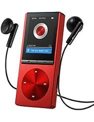 Reproductor de MP3 8GB de VicTsing, Portátil y Brazalete Exclusivo Deportivos, FM Radio, Apoya Tarjeta de Memoria hasta 64GB