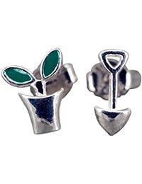 Uhren & Schmuck Echtschmuck Intelligent Damen 925 Silber Finger Ring Blume Blüte Blatt Baum Ast Natur Schmuck Geschenk