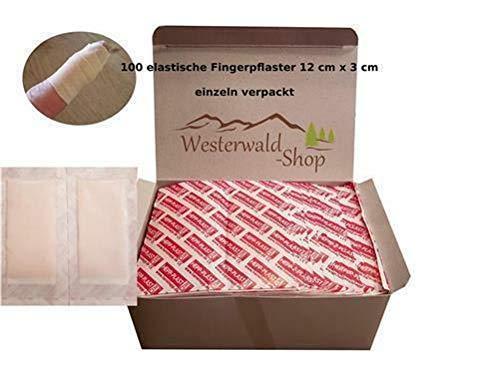 100 Stück Fingerverband Fingerpflaster Verbandpflaster 12 x 3 cm Einzeln versiegelt