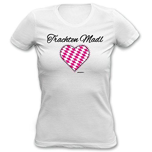 lustiges Wiesn Oktoberfest Damen T-Shirt Shirt Damen Mädchen Geburtstag Geschenk Goodman (Designs T Shirt Kinder)