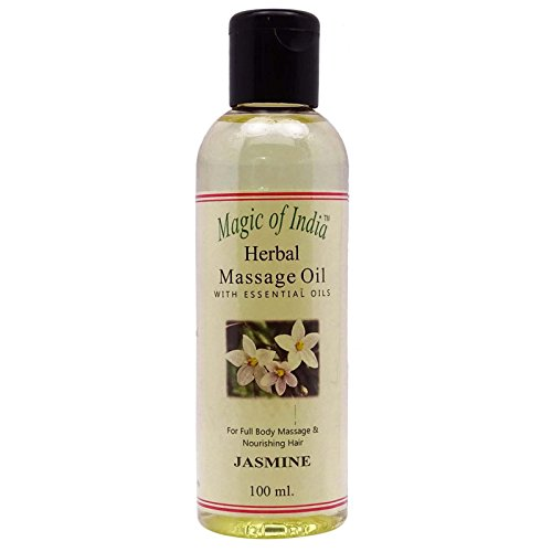 La Magie De L'Huile De Jasmin Inde De Massage À Base De Plantes Essentiel Pour Tout Le Corps - 100 ml