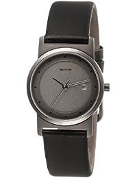 Botta 423100 - Reloj de caballero de cuarzo, correa de piel color plata