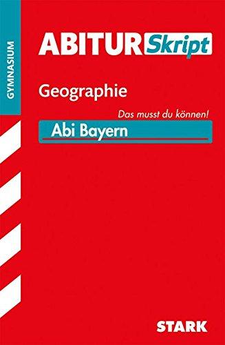 AbiturSkript - Geographie Bayern