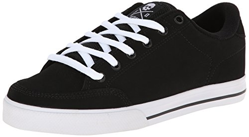 C1RCA 100000 Unisex Low-Top, Nero (Black/White), 40 EU