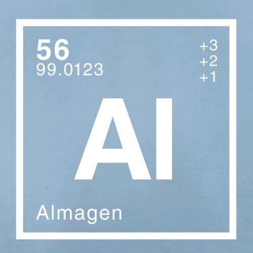 Alma Periodensystem - Herren T-Shirt - 13 Farben Himmelblau