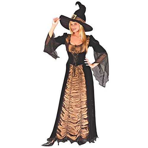 LBFKJ Cosplay, Lady Halloween Costume da Strega Sexy, Costume da Spettacolo in Maschera, Uniforme da Gioco,S