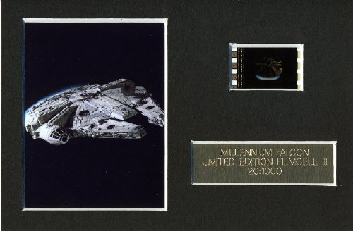 Filmcell Factory Ltd Star Wars MILLENNIUM FALCON Limited Edition Film Cell m