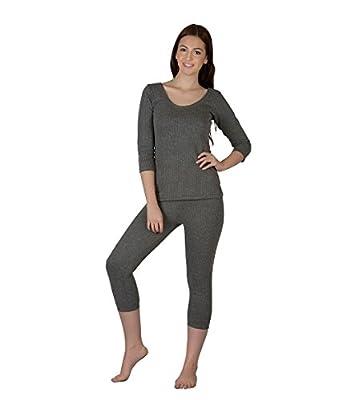 Generic Women's Wool Thermal Set (TMRK02 _Grey_ X-Large)