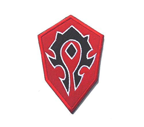 Angle World of Warcraft Alliance Tribal Terran Military Stickerei Morale ()