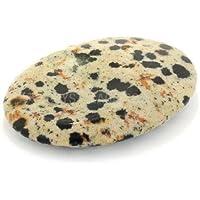 Dalmatian Jasper Thumb Stone by CrystalAge preisvergleich bei billige-tabletten.eu