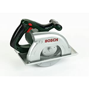 41uJ1LLHLpL. SS300  - Theo Klein Tools Juguete, Bosch Sierra Circular, 3 Años, Multicolor (8421)