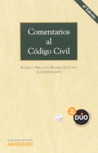 Comentarios Al Código Civil – 4ª Edición