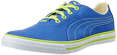 Puma Unisex Nestor DP Strong Blue and Lime Punch Sneakers - 10 UK/India (44.5EU) (36069902)
