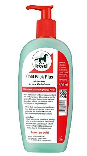 Leovet Apothekers Pferdesalbe COLD PACK PLUS | 500ml Spender