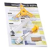 Jullyelegant DIY Car Wind Shield Kit de reparación de Vidrio Vehículo Vidrio Parabrisas Reparación de Vidrio Herramientas de restauración de Grietas para el Estilo de Coches