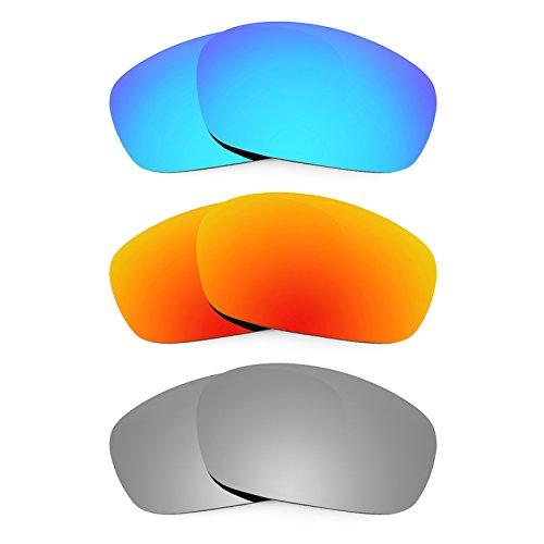 Preisvergleich Produktbild Revant Ersatzlinsen für Oakley Racing Jacket Polarisiert 3 Paar Kombipack K014