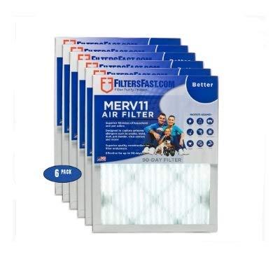 2,5cm Bundfaltenhose Air Filter Merv 11–6Pack von Filter Schnell -
