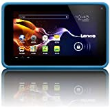 "Lenco Cooltab 72 Tablette Tactile 7"" (17,78 cm) ARM CortexA7 1,2 GHz 4 Go Android Jelly Bean 4.2.1 Wi-Fi Bleu"