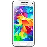 "Samsung Galaxy S5 Mini - Smartphone libre Android (pantalla 4.5"", cámara 8 Mp, 16 GB, Quad-Core 1.4 GHz, 1.5 GB RAM), blanco"