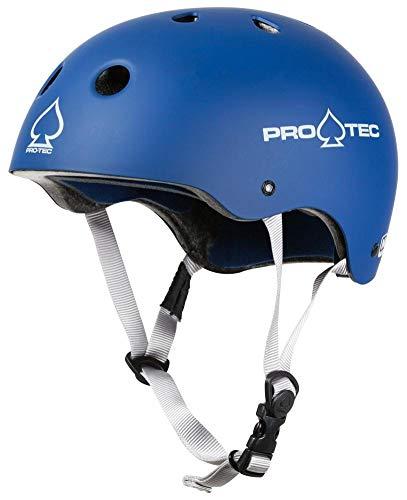 Pro-Tec Classic Casco, Unisex Adulto, Azul (Matte Blue), L