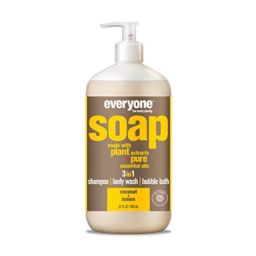 Everyone 3-in-1 Soap Coconut plus Lemon, 32 Ounce