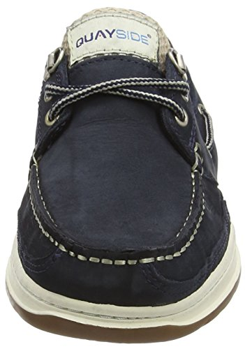QUAYSIDE Unisex-Erwachsene Sydney Bootschuhe Blau (Marineblau)