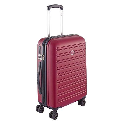 Delsey Paris Segur Maleta, Rojo (Rouge), 55 cm / 40 liters